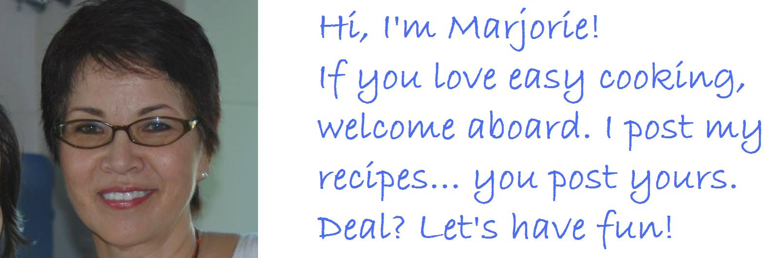 Easy Recipes, Etc - by Marjorie Marina