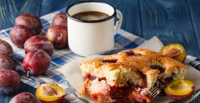 Peach Cobbler with Almond Topping Recipe